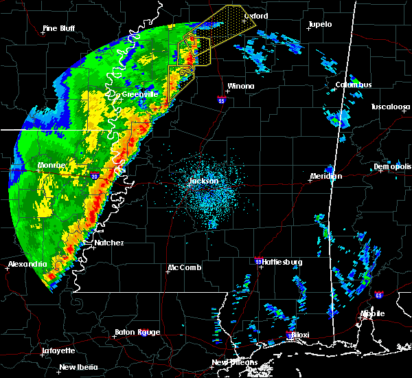 Radar Image for Severe Thunderstorms near Schlater, MS at 3/25/2017 3:56 AM CDT