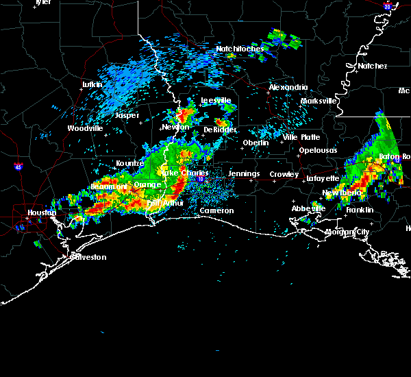 Radar Image for Severe Thunderstorms near Lake Charles, LA at 3/25/2017 8:26 AM CDT