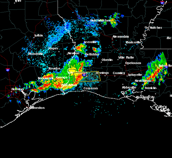 Radar Image for Severe Thunderstorms near Lake Charles, LA at 3/25/2017 8:36 AM CDT