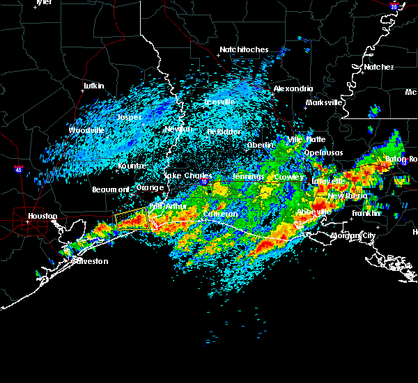 Radar Image for Severe Thunderstorms near Port Arthur, TX at 3/25/2017 11:02 AM CDT