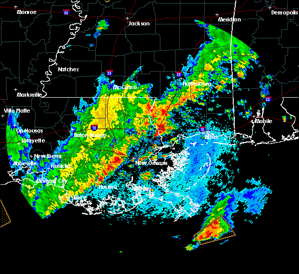 Radar Image for Severe Thunderstorms near Picayune, MS at 3/25/2017 1:48 PM CDT