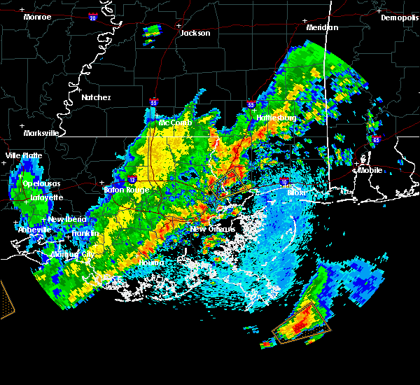 Radar Image for Severe Thunderstorms near Picayune, MS at 3/25/2017 2:03 PM CDT