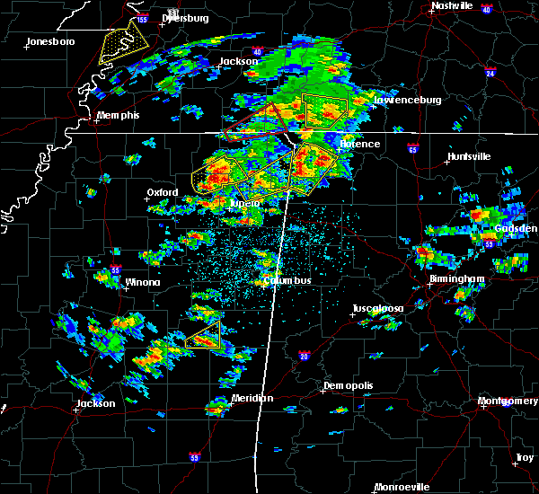 Radar Image for Severe Thunderstorms near Noxapater, MS at 3/27/2017 2:21 PM CDT
