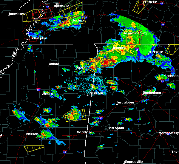 Radar Image for Severe Thunderstorms near Russellville, AL at 3/27/2017 3:44 PM CDT