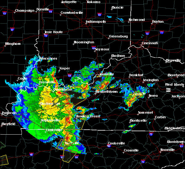 Radar Image for Severe Thunderstorms near Fordsville, KY at 3/27/2017 4:03 PM CDT