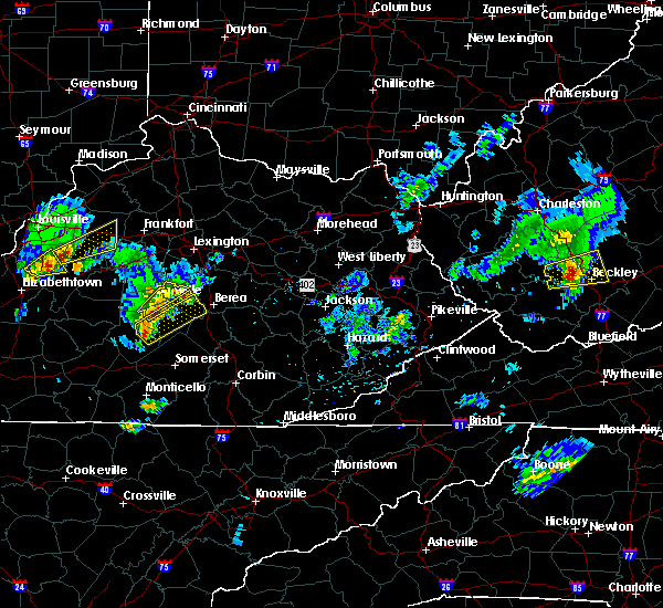Radar Image for Severe Thunderstorms near Lancaster, KY at 3/27/2017 5:06 PM EDT