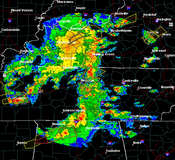 Radar Image for Severe Thunderstorms near Lebanon, TN at 3/27/2017 4:25 PM CDT