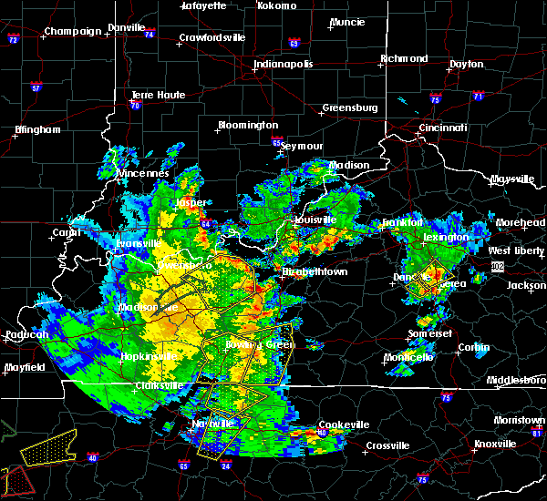 Radar Image for Severe Thunderstorms near Fordsville, KY at 3/27/2017 4:41 PM CDT