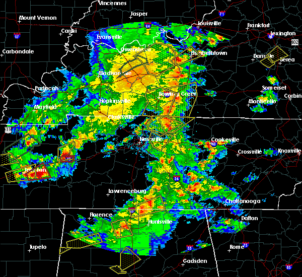 Radar Image for Severe Thunderstorms near Lebanon, TN at 3/27/2017 4:41 PM CDT