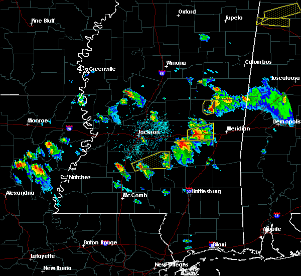 Radar Image for Severe Thunderstorms near Georgetown, MS at 3/27/2017 4:44 PM CDT
