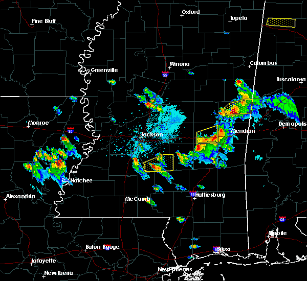 Radar Image for Severe Thunderstorms near Newton, MS at 3/27/2017 5:22 PM CDT