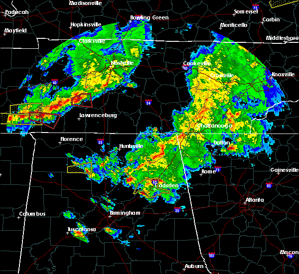Radar Image for Severe Thunderstorms near Valley Head, AL at 3/27/2017 6:50 PM CDT