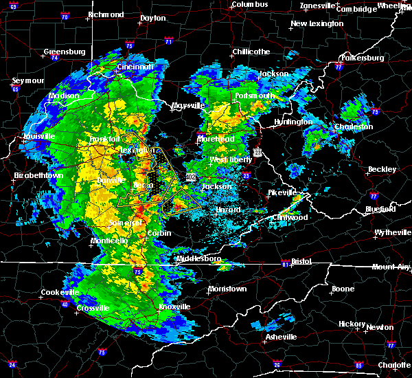 Radar Image for Severe Thunderstorms near Paris, KY at 3/27/2017 8:08 PM EDT