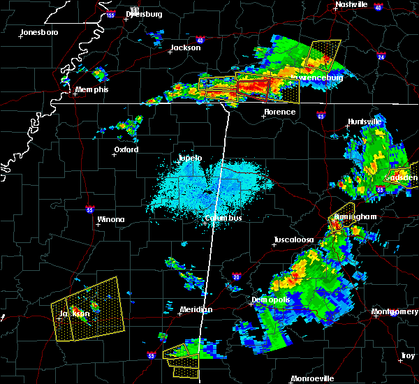 Radar Image for Severe Thunderstorms near Collinwood, TN at 3/27/2017 7:39 PM CDT