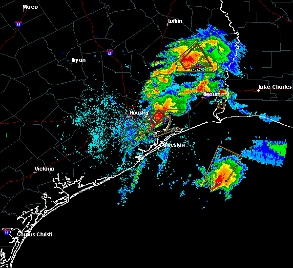 Radar Image for Severe Thunderstorms near Baytown, TX at 3/29/2017 3:24 PM CDT