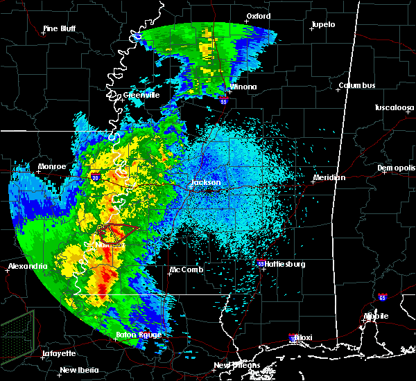 Radar Image for Severe Thunderstorms near Fayette, MS at 3/29/2017 11:33 PM CDT