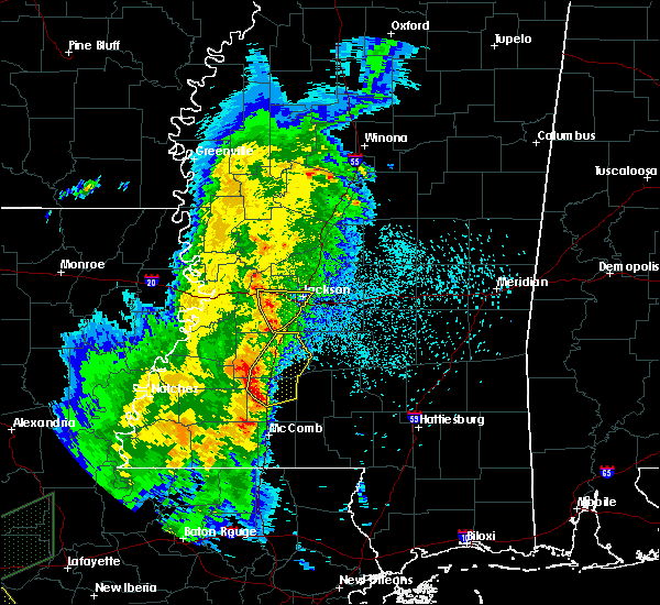 Radar Image for Severe Thunderstorms near Richland, MS at 3/30/2017 12:55 AM CDT