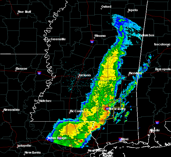 Radar Image for Severe Thunderstorms near Arnold Line, MS at 3/30/2017 6:17 AM CDT