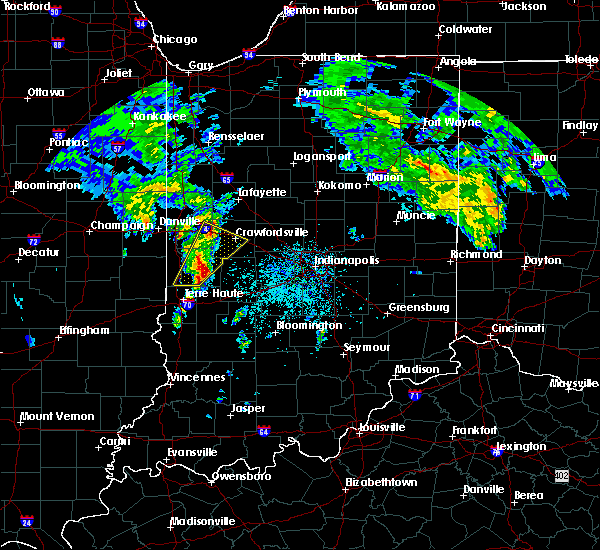 Radar Image for Severe Thunderstorms near Marshall, IN at 3/30/2017 2:53 PM EDT