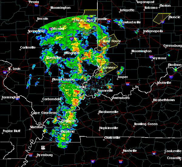 Radar Image for Severe Thunderstorms near Odon, IN at 3/30/2017 5:24 PM EDT
