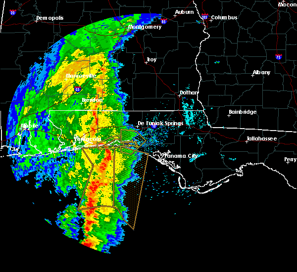 Radar Image for Severe Thunderstorms near Niceville, FL at 3/30/2017 5:29 PM CDT