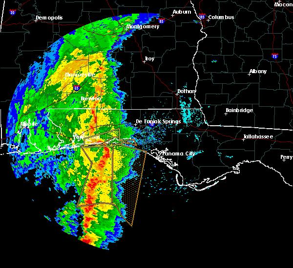 Radar Image for Severe Thunderstorms near Destin, FL at 3/30/2017 5:28 PM CDT
