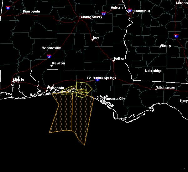 Radar Image for Severe Thunderstorms near Niceville, FL at 3/30/2017 5:44 PM CDT