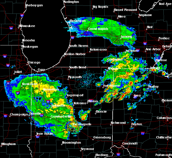 Radar Image for Severe Thunderstorms near Convoy, OH at 3/30/2017 6:53 PM EDT