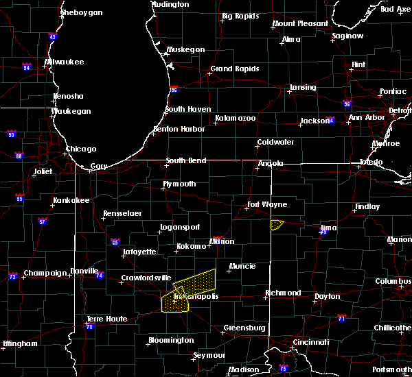 Radar Image for Severe Thunderstorms near Convoy, OH at 3/30/2017 7:11 PM EDT