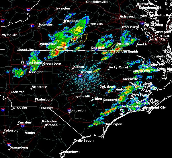 Radar Image for Severe Thunderstorms near Nathalie, VA at 3/31/2017 3:51 PM EDT