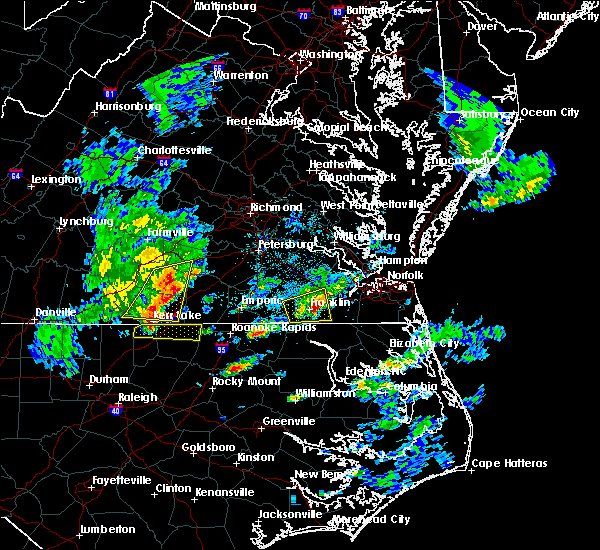 Radar Image for Severe Thunderstorms near Suffolk, VA at 3/31/2017 5:05 PM EDT