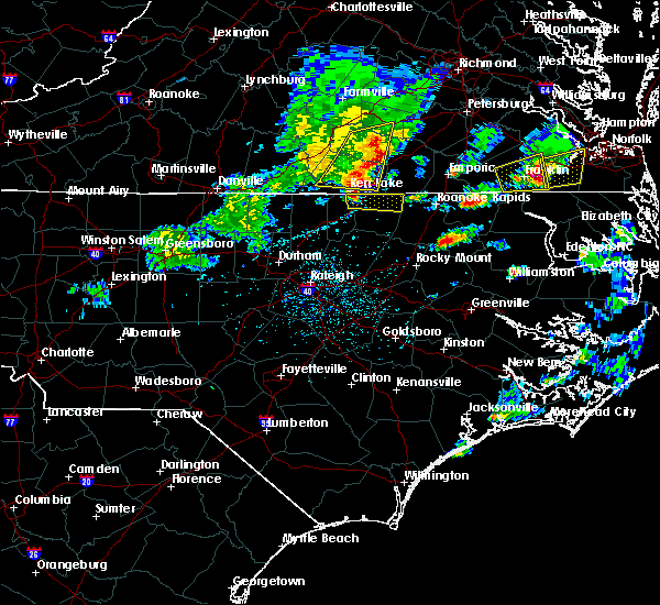 Radar Image for Severe Thunderstorms near Macon, NC at 3/31/2017 5:11 PM EDT