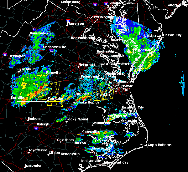Radar Image for Severe Thunderstorms near Union Level, VA at 3/31/2017 5:14 PM EDT