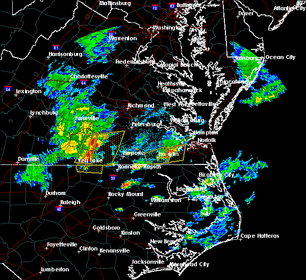 Radar Image for Severe Thunderstorms near Suffolk, VA at 3/31/2017 5:23 PM EDT
