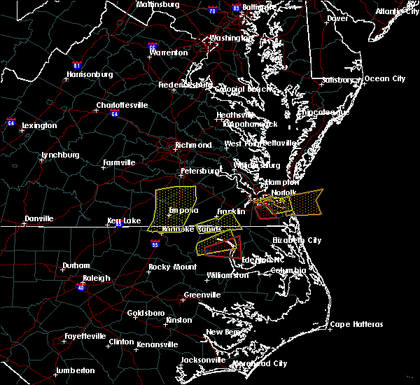 Radar Image for Severe Thunderstorms near Chesapeake, VA at 3/31/2017 6:18 PM EDT