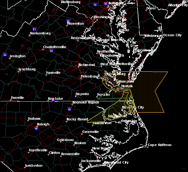 Radar Image for Severe Thunderstorms near Chesapeake, VA at 3/31/2017 8:27 PM EDT
