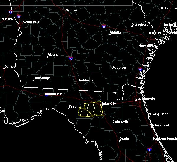 Radar Image for Severe Thunderstorms near Branford, FL at 4/4/2017 1:04 AM EDT