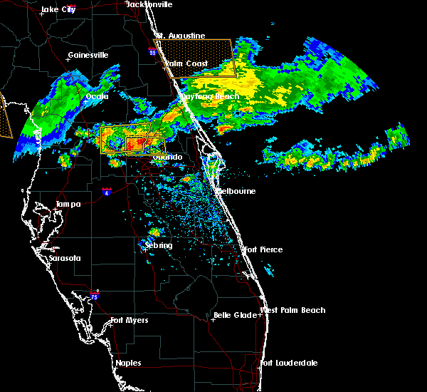 Radar Image for Severe Thunderstorms near Wekiwa Springs, FL at 4/4/2017 2:14 PM EDT