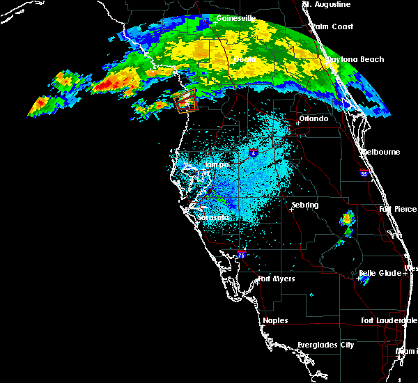 Radar Image for Severe Thunderstorms near Homosassa, FL at 4/4/2017 9:46 PM EDT