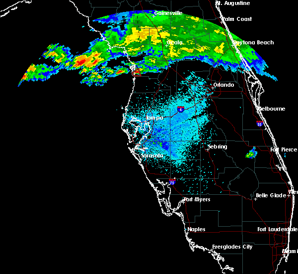 Radar Image for Severe Thunderstorms near Homosassa, FL at 4/4/2017 10:10 PM EDT