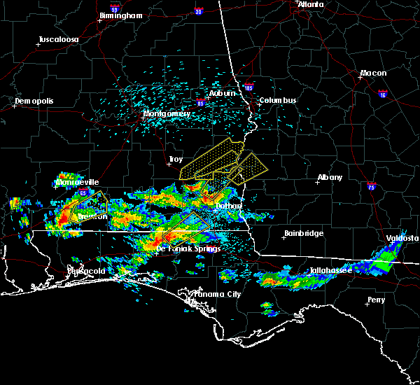 Radar Image for Severe Thunderstorms near Coleman, GA at 4/5/2017 3:06 AM EDT