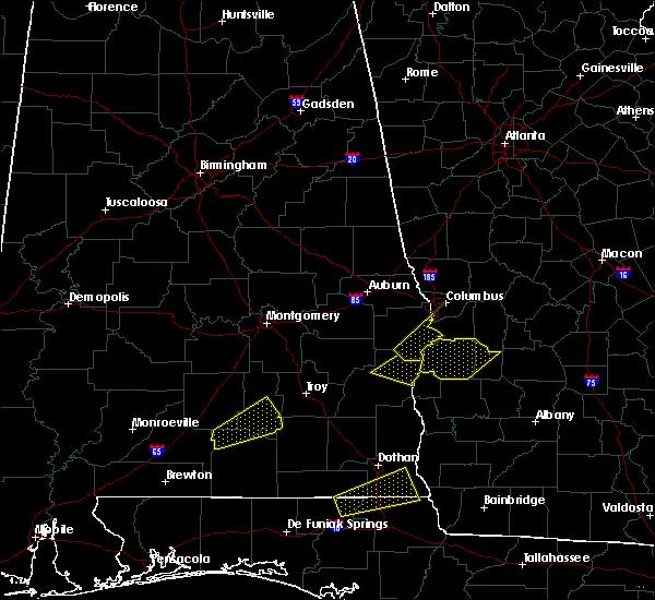 Radar Image for Severe Thunderstorms near Columbus, GA at 4/5/2017 2:58 AM CDT