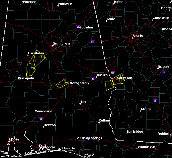 Radar Image for Severe Thunderstorms near Montgomery, AL at 4/5/2017 4:01 AM CDT