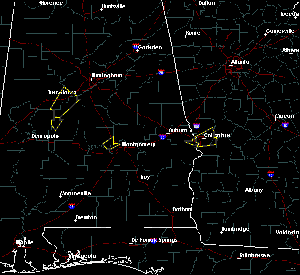 Radar Image for Severe Thunderstorms near Montgomery, AL at 4/5/2017 4:14 AM CDT