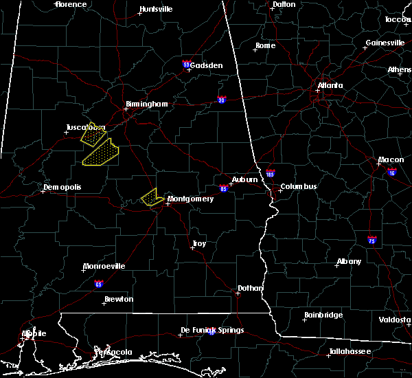 Radar Image for Severe Thunderstorms near Montgomery, AL at 4/5/2017 4:26 AM CDT