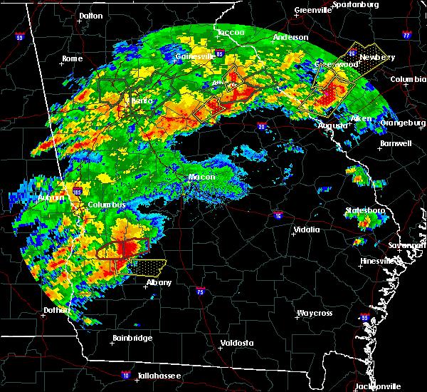Radar Image for Severe Thunderstorms near De Soto, GA at 4/5/2017 1:09 PM EDT