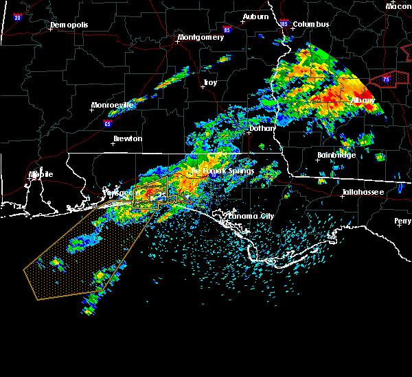 Radar Image for Severe Thunderstorms near Niceville, FL at 4/5/2017 2:10 PM CDT