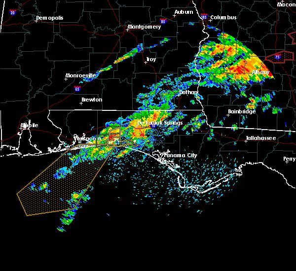 Radar Image for Severe Thunderstorms near Ocean City, FL at 4/5/2017 2:16 PM CDT