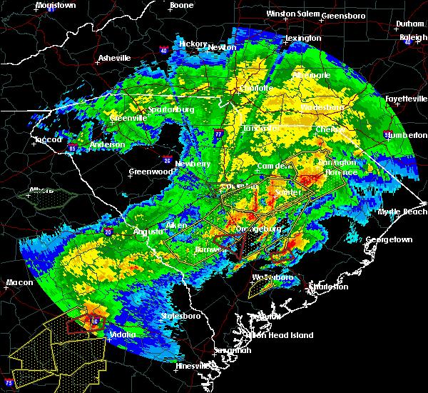 Radar Image for Severe Thunderstorms near Eutawville, SC at 4/5/2017 4:13 PM EDT