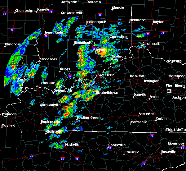 Radar Image for Severe Thunderstorms near Ekron, KY at 4/5/2017 4:19 PM EDT